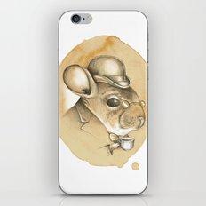 Gentleman Chinchilla iPhone & iPod Skin