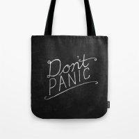 Don't Panic Tote Bag
