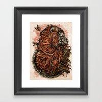 Lionnnn Framed Art Print