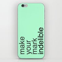 Make Your Mark iPhone & iPod Skin