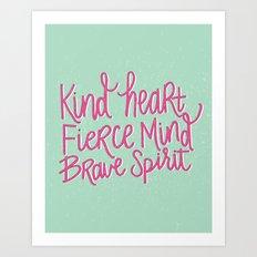 Brave Spirit Art Print