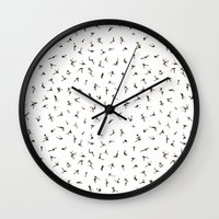 In Stitches Wall Clock