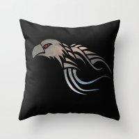 Eagles Soar Throw Pillow