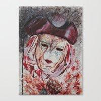 Broken soul Canvas Print