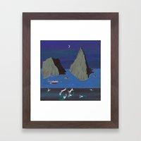 Evil Mermaids Framed Art Print