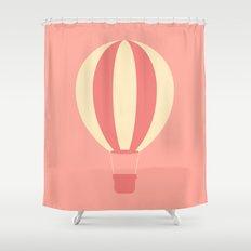 #84 Hot Air Balloon Shower Curtain