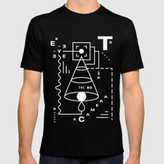 The Harsh Truth Of The Camera Eye Mens Fitted Tee Black SMALL