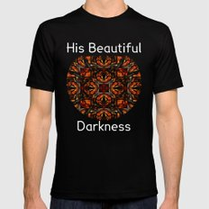 His Beautiful Darkness Black SMALL Mens Fitted Tee