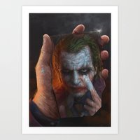 The Joke Art Print