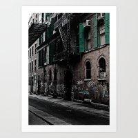 Soho Nyc Art Print