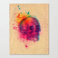 The Fleeting Canvas Print