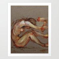 Tumble Art Print