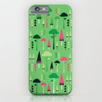 iPhone & iPod Case featuring The Green Forest by Tove Andersson