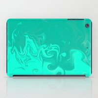 Ocean Swirls iPad Case