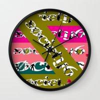Sick Click Wall Clock
