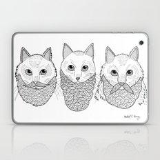 Cats With Beards Laptop & iPad Skin