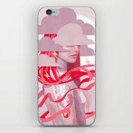 STORM GIRL iPhone & iPod Skin