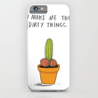 You Make Me Think Dirty Things iPhone 6 Slim Case