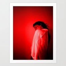Bloodshot Art Print