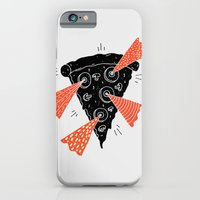 iPhone & iPod Case featuring Lazer Pizza by Vaughn Fender