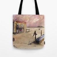 The Lone Saloon Tote Bag
