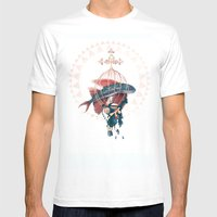 FlyFish Mens Fitted Tee White SMALL