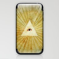 God's Eye iPhone & iPod Skin