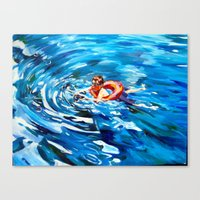 Still Swimmin' Canvas Print