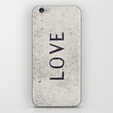 Love Stone Photography - Love Carved in Stone - Zen Meditation Art iPhone & iPod Skin