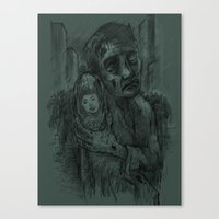I Miss You Alison Canvas Print