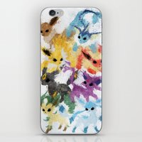 Eeveelutions iPhone & iPod Skin
