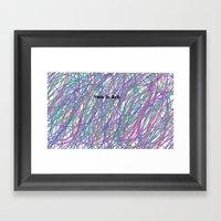 This is Art. Framed Art Print