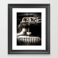 BUICK EIGHT Framed Art Print