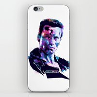 Arnold Schwarzenegger: BAD ACTORS iPhone & iPod Skin