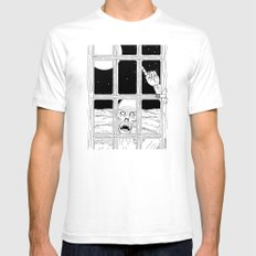 It Wants To Come In Mens Fitted Tee White SMALL