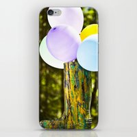 Boot And Balloons iPhone & iPod Skin