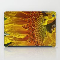 Inside the Sunflower iPad Case