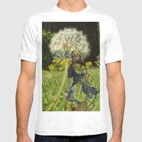 Flower Fairies Mens Fitted Tee White SMALL