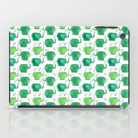thousands of little green elephants iPad Case