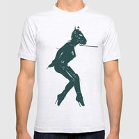 My Lovely Pony Mens Fitted Tee Ash Grey SMALL