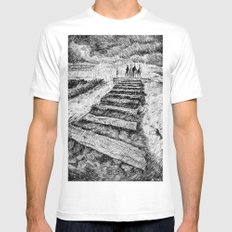 Storm - Ink SMALL White Mens Fitted Tee