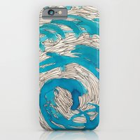 Blue Spiral iPhone 6 Slim Case