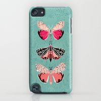 iPod Touch Cases featuring Lepidoptery No. 6 by Andrea Lauren by Andrea Lauren Design