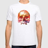 Skeletz0r Mens Fitted Tee Ash Grey SMALL