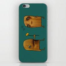 Wood He Love Me? iPhone & iPod Skin