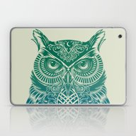 Warrior Owl Laptop & iPad Skin