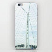 new bay bridge  iPhone & iPod Skin