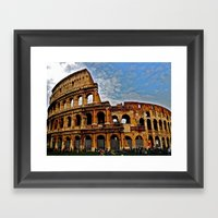 Do as the Roman's do Framed Art Print