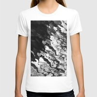 Wired Womens Fitted Tee White SMALL