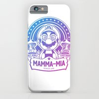 Mamma Mia Super Mario is-a Crazy iPhone 6 Slim Case